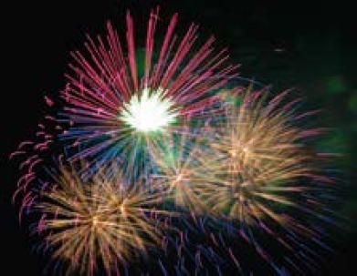 Fogos de Artifício em Maple (Canadá)