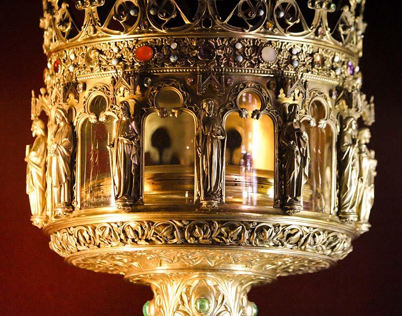Relicário da Coroa de Espinhos, Catedral de Notre Dame
