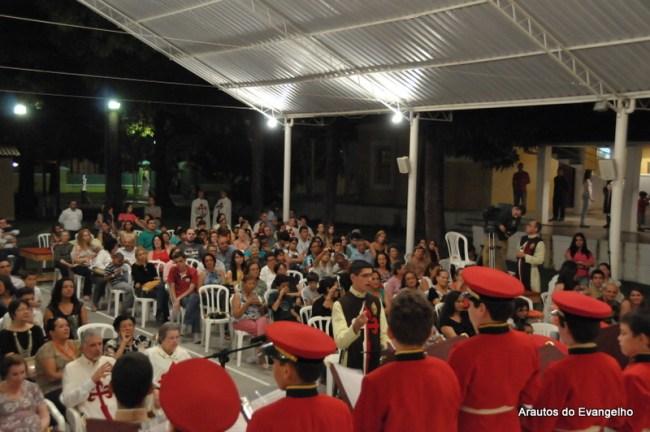 Comemoração do Dia das Mães na casa dos Arautos em Recife