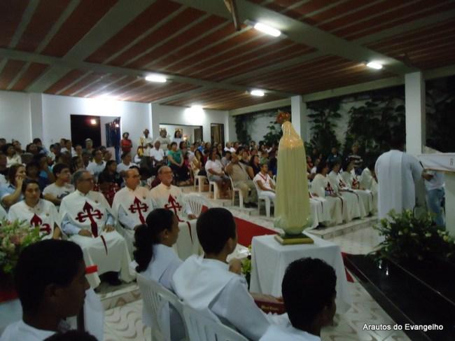 Missa na Capela Imaculado Coração de Maria em São Lourenço da Mata - PE