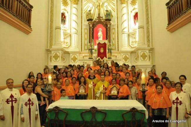 Missa com o Apostolado do Oratório na Paróquia Nossa Senhora da Apresentação (Escada - PE)