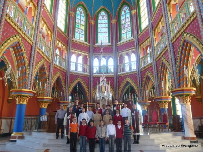 Igreja do Centro Mariano dos Arautos do Evangelho (Cotia - SP)