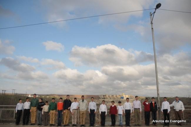 Viajantes para o Curso de Férias na barragem de Paulo Afonso, Bahia