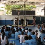 Arautos do Evangelho no Colégio Vinícius de Morais