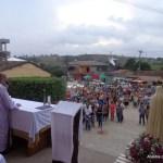Missa campal na Vila de Santana