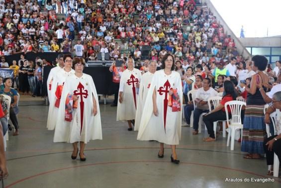Arautos do Evangelho na festa de Pentecostes em Maceió 2015