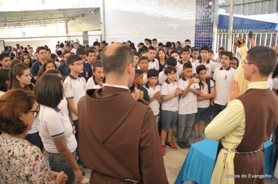 Projeto Futuro e Vida no Colégio Santa Joana - Janga - Paulista - PE