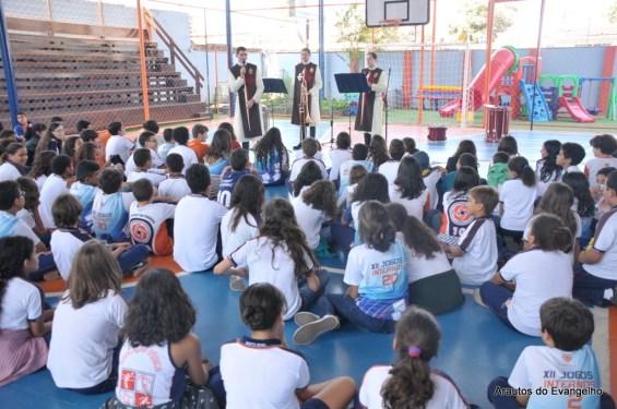Projeto Futuro e Vida no Colégio Santa Rosa - Janga