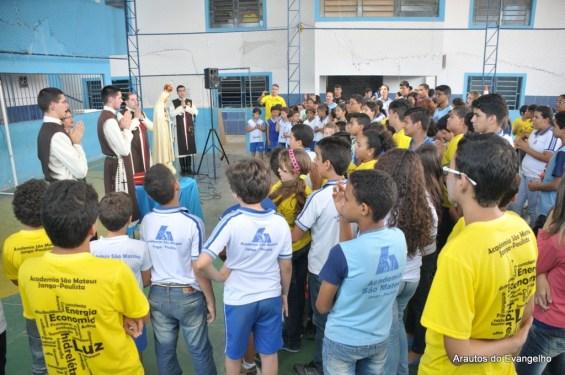 Projeto Futuro e Vida na Academia São Mateus