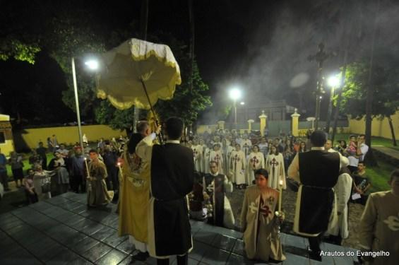 Corpus Christi - sede dos Arautos do Evangelho - 2016