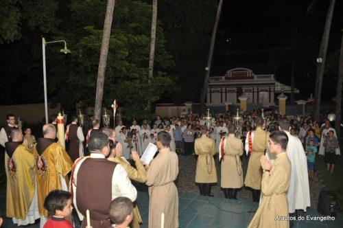 Vigília Pascal - Sede dos Arautos do Evangelho - Recife