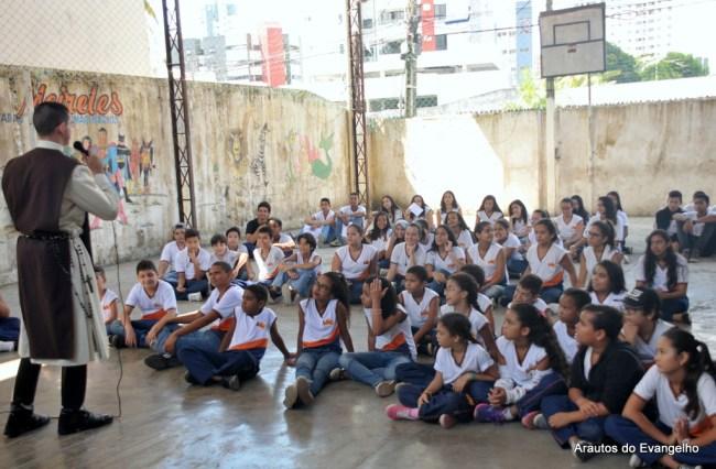 Projeto Futuro e Vida - Arautos do Evangelho - Escola Cecília Meireles - Jaboatão dos Guararapes - PE