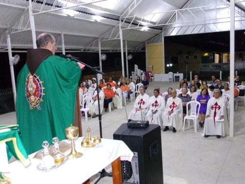 Celebração da Santa Missa, Pe. Francisco Beccari. EP