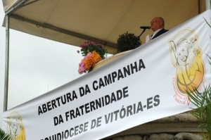 Dom Luiz Mancilha na abertura da Campanha da Fraternidade na Arquidiocese de Vitória/ES