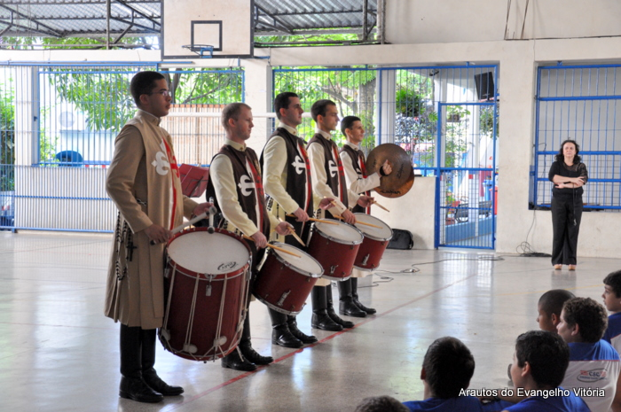 Apresentação do Projeto Futuro e Vida no Colégio Santa Catarina, Vila Velha