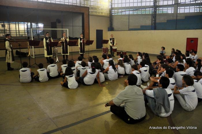 Projeto Futuro e Vida no Colégio Duque de Caxias