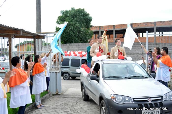 Carreata em louvor a Nossa Senhora de Fátima, em Jardim Limoeiro, Serra