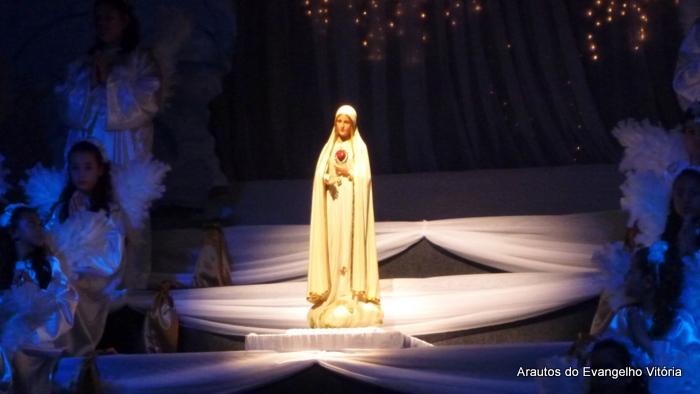 Coroação de Nossa Senhora na paróquia da Glória, Vila Velha