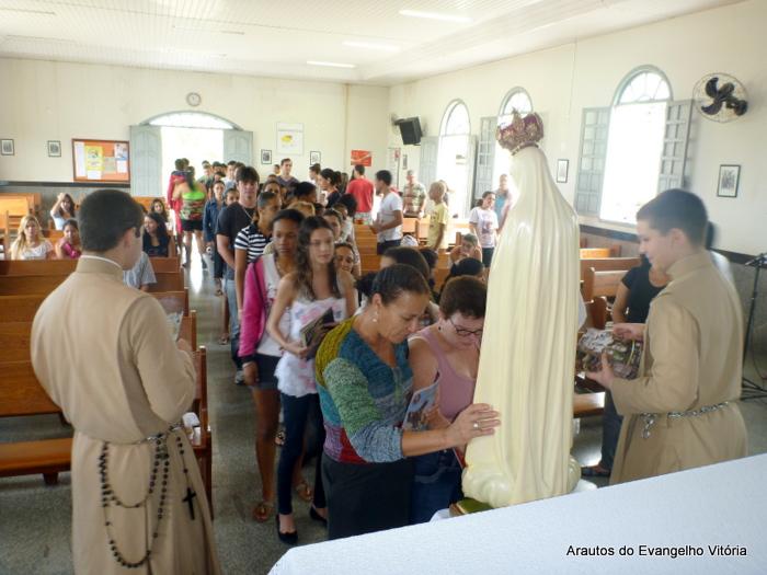 Palestra para grupo de jovens, Vila Velha