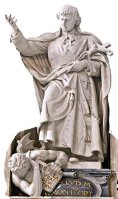 São Luís Grignion de Montfort - basílica São Pedro - Vaticano
