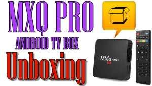 Open Box MXQ Pro Android TV Box – Media Box Ent