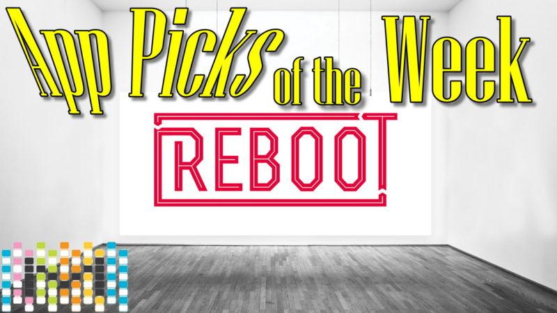 REBOOT App Picks of the Week 11.23.2016