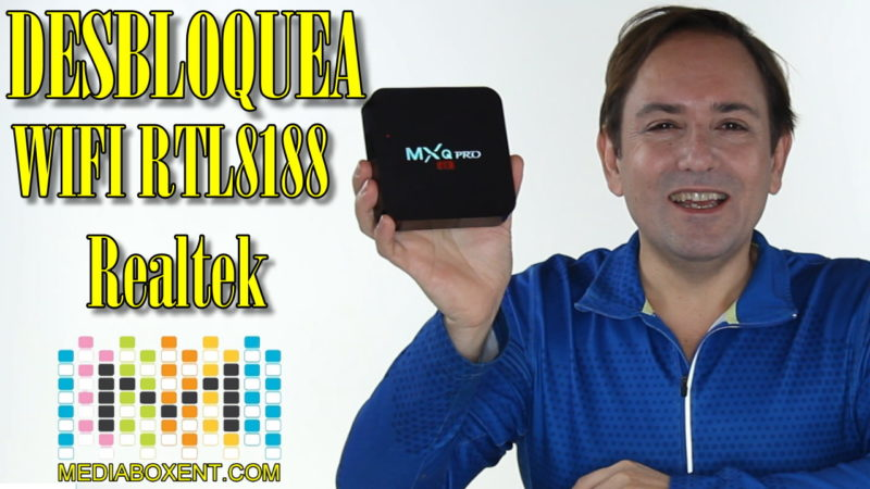 Cómo desbloquear MXQ-PRO WIFI RTL8188 Realtek