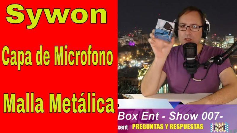 Sywon Capa de Microfono - Malla Metalica -