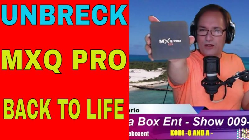 UNBRECK MXQ PRO BACK TO LIFE