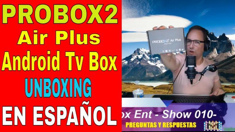 PROBOX2 Air Plus en ESPAÑOL
