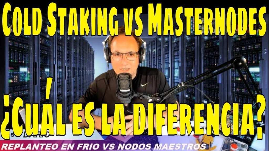 Cold Staking vs. Masternodes
