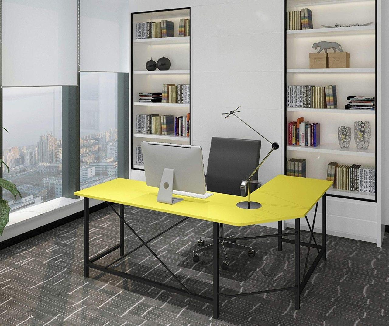 Computer Desk L Shaped Corner Desk Home Office Desks ...