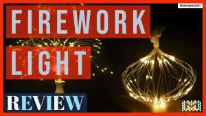 Firework Light 150 LED Hanging Fairy Lights