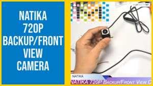 NATIKA 720P Backup/Front View Camera