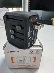 Smart travel adapter
