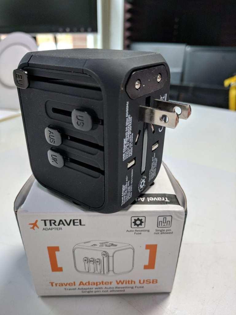 Smart travel adapter