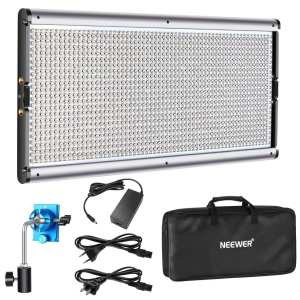 Neewer Dimmable LED Video Light Photography LED Lighting with Metal Frame 1320 LED