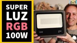 Luz de LED RGB Super potente para el exterior