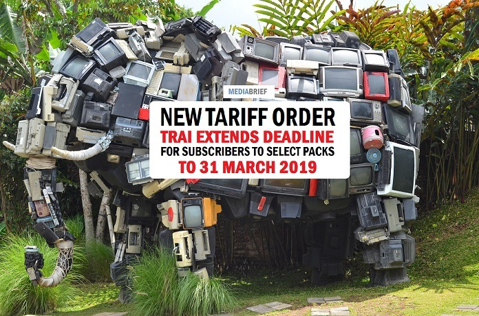 Image in post New Tariff Order - TRAI extends Subscriber pack selection deadline to 31 March 2019