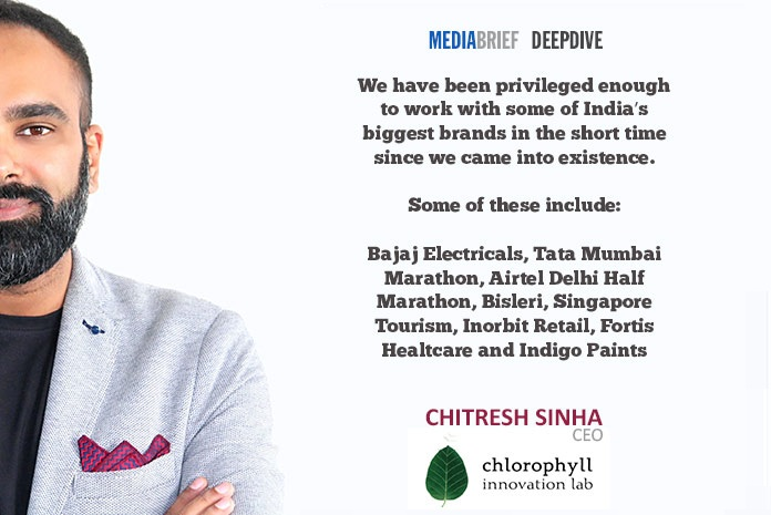 image-Chitresh blurb-5-Chitresh-Sinha-CEO-chlorophyll-innovation-lab-on-Innovation-On-Tap-MediaBrief