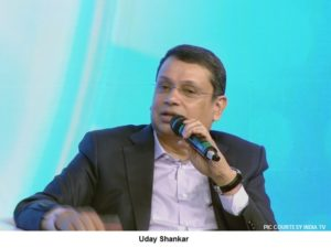 image uday shankar at india tv conclave