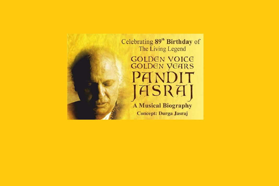 Musical Biography 'Golden Voice Golden Years - Pandit Jasraj' on 15 March in Mumbai