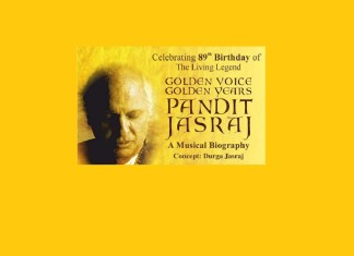 image pandit jasraj golden voice golden years concert mumbai 15 march mediabrief