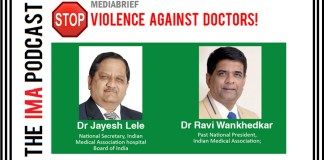 IMA STOP VIOLENCE AGAINST DOCTORS - DR RAVI WANKHEDAR AND DR JAYESH LELE-MEDIABRIEF-1