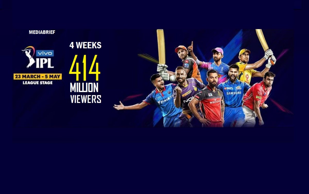 VIVO IPL 2019 – Already watched by 1 out of 2 TV-viewing Indians