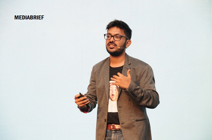 IMAGE - Vijay Sharma Head Digital Media Brand Marketing Flipkart at Goafest2019