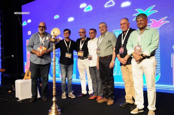 image - Nakul Chopra, Vikram Tanna, Vikram Sakhuja, Sudhanshu Vats, Ashish Bhasin, Jaideep Gandhi and Shashi Sinha at the inauguration ceremony of Goafest2019
