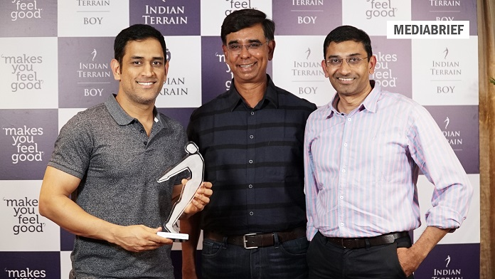 image-Indian Terrain signs celebrated cricketer Mahendra Singh Dhoni as Brand Ambassador-mEDIABRIEF