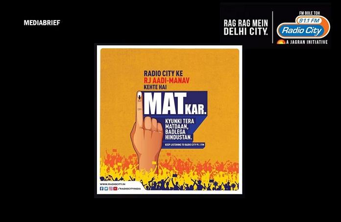 image-Radio-City-MatKar-campaign-for-Voter-Awareness-in-Delhi-Mediabrief-INPOST