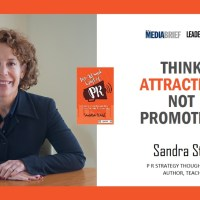 Think attraction, not promotion: Sandra Stahl in LEADERSPEAK